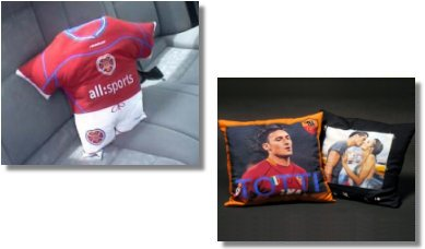Promotional cushions